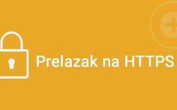 Prelazak na HTTPS