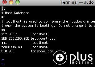 Korištenje hosts file-a