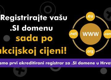 Postali smo prvi hrvatski akreditirani registrar za .SI domene